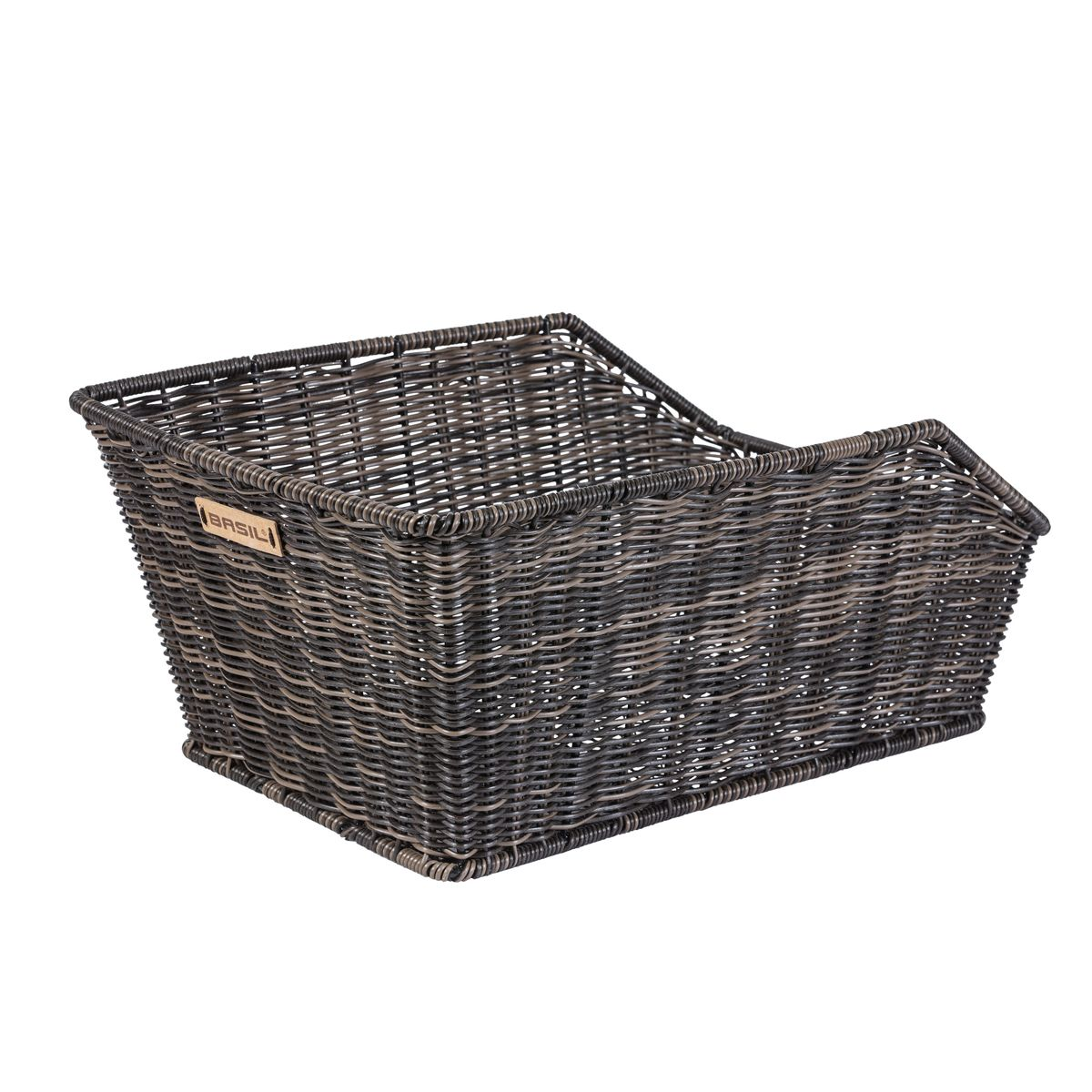 CENTO RATTAN LOOK rear bicycle basket