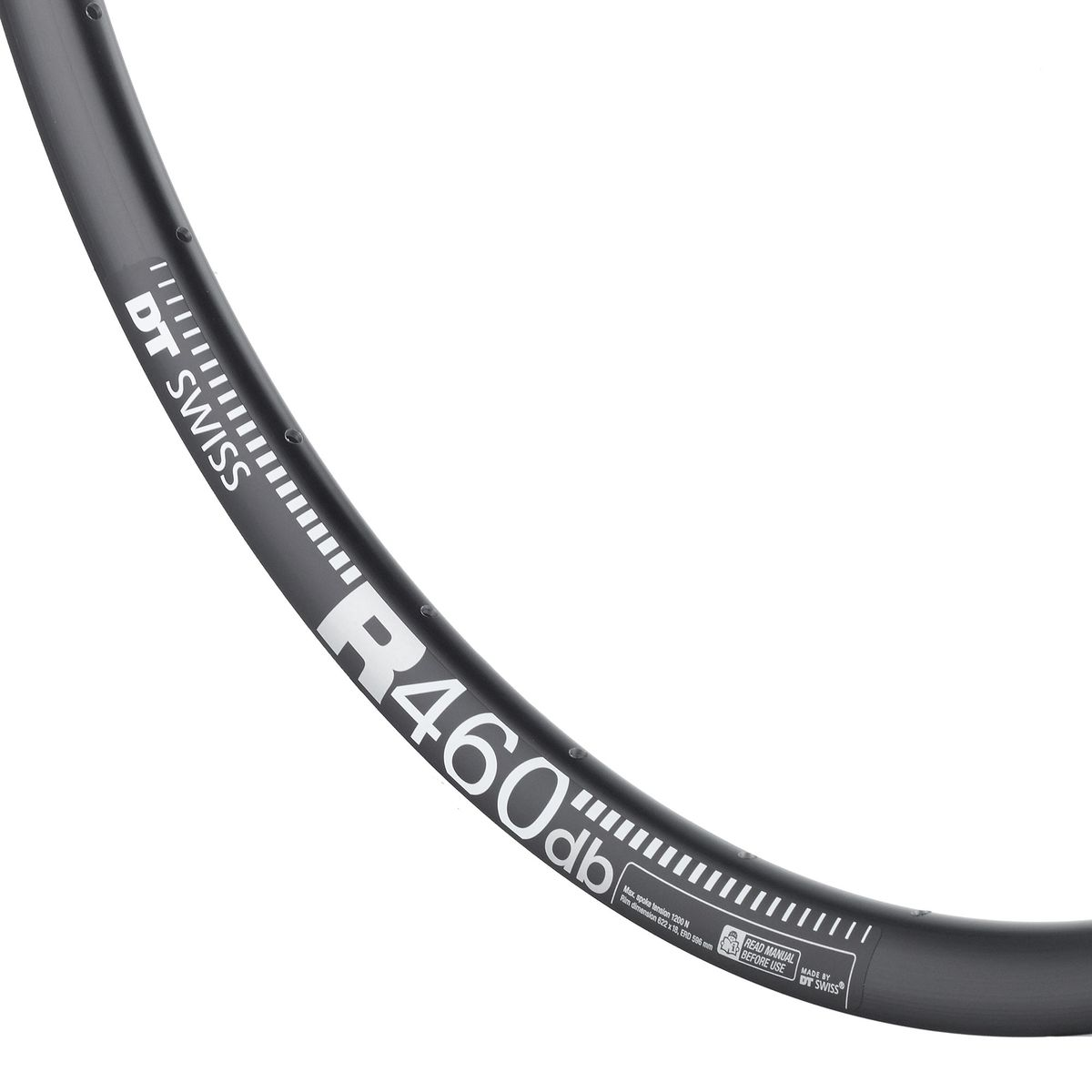 R-460 db DISC road bike rim