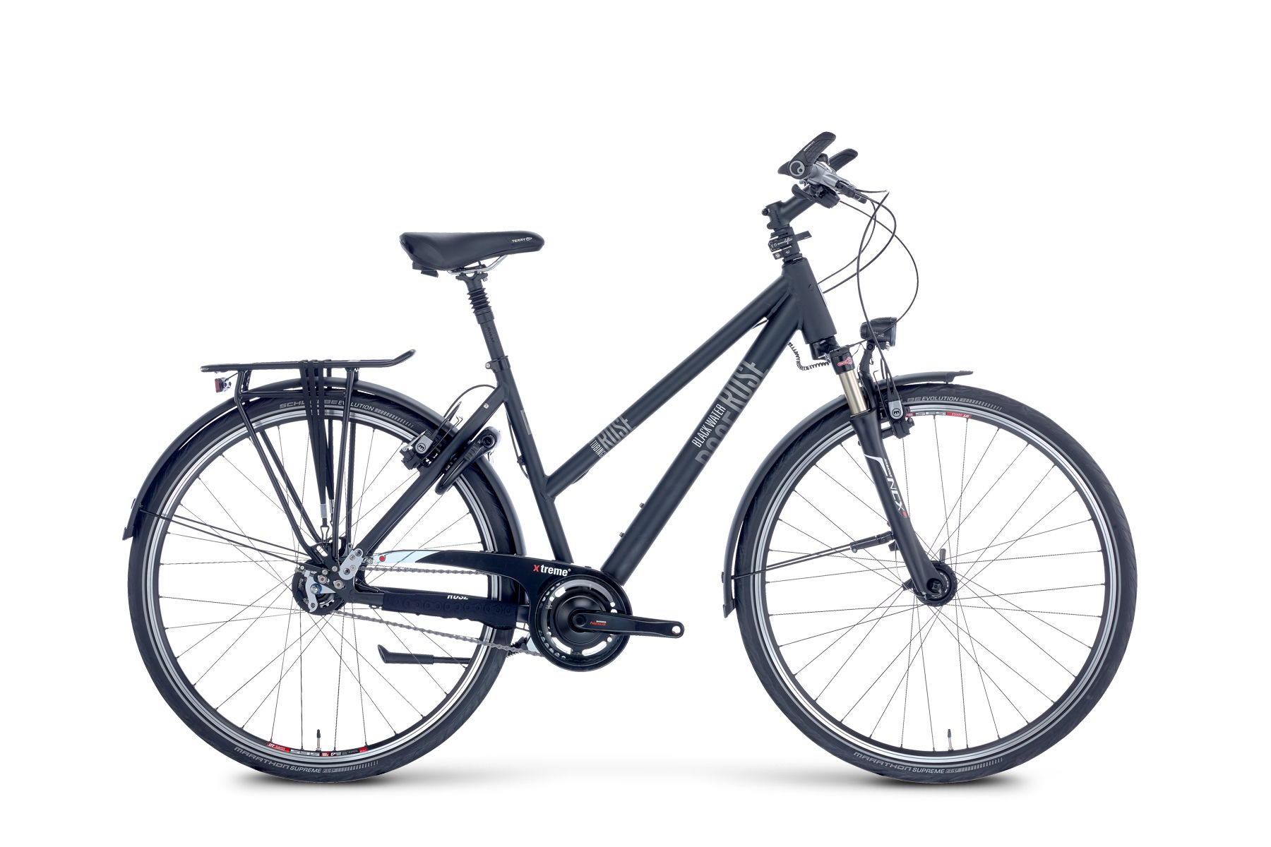 BLACK WATER 1 UNISEX showroom bike size: 19""