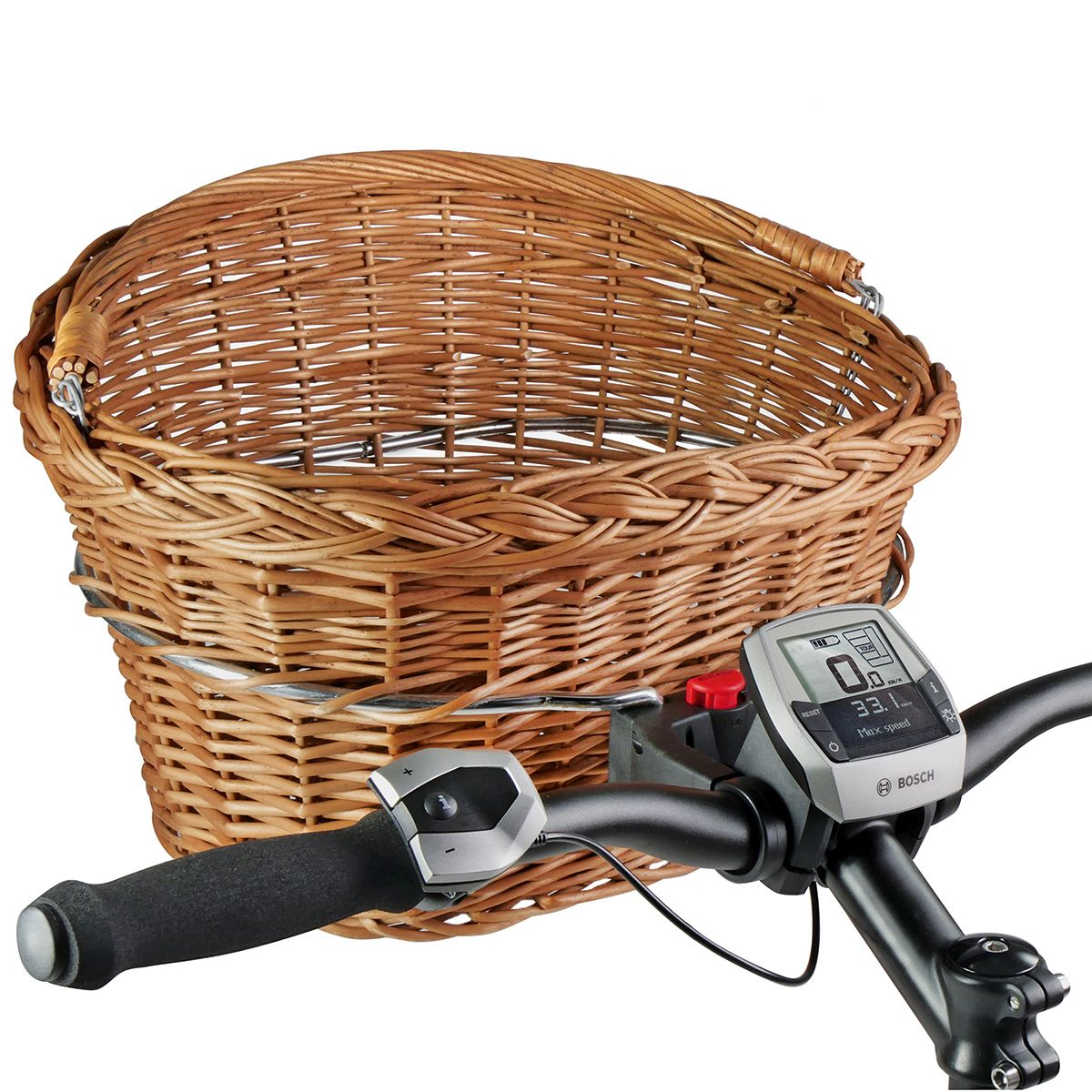 WEIDENKORB front bicycle basket